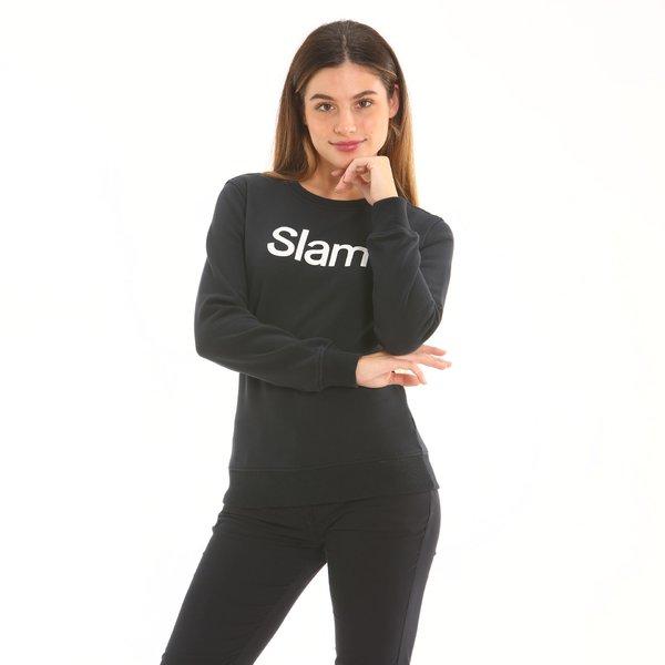 Women sweatshirt D658 in french terry cotton