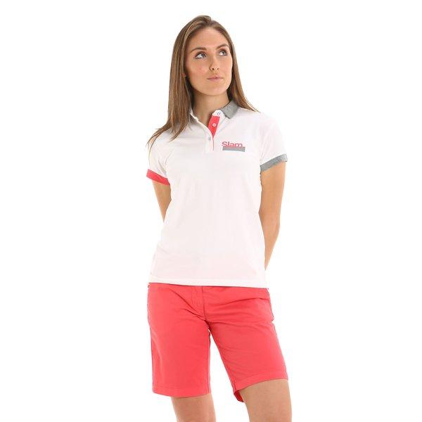 E266 women's Bermuda shorts in stretch cotton twill
