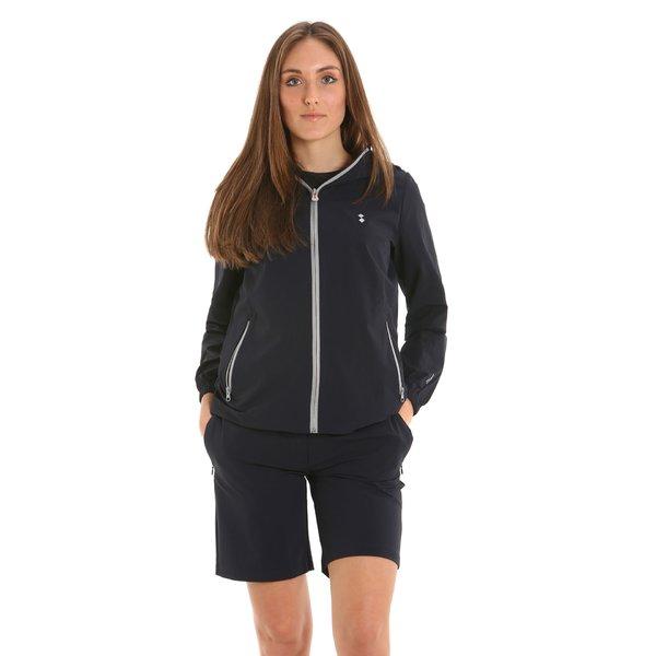 E261 women's Bermuda shorts in technical stretch nylon