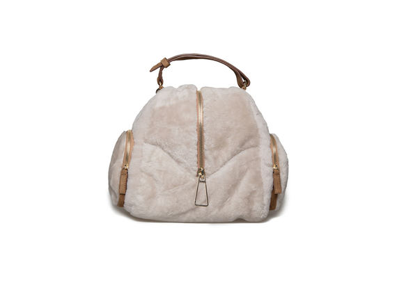 Small fur backpack