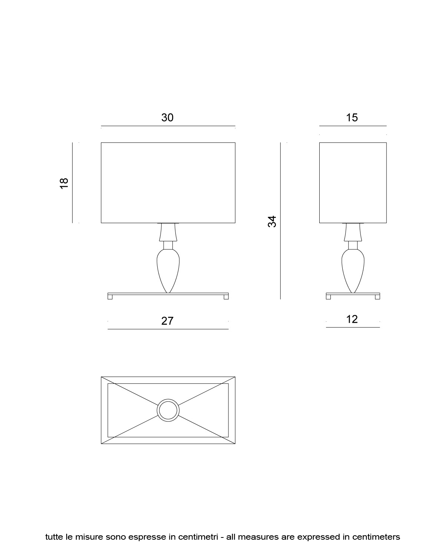Visionnaire Online Shop Table Lamp Chromed Steel Base