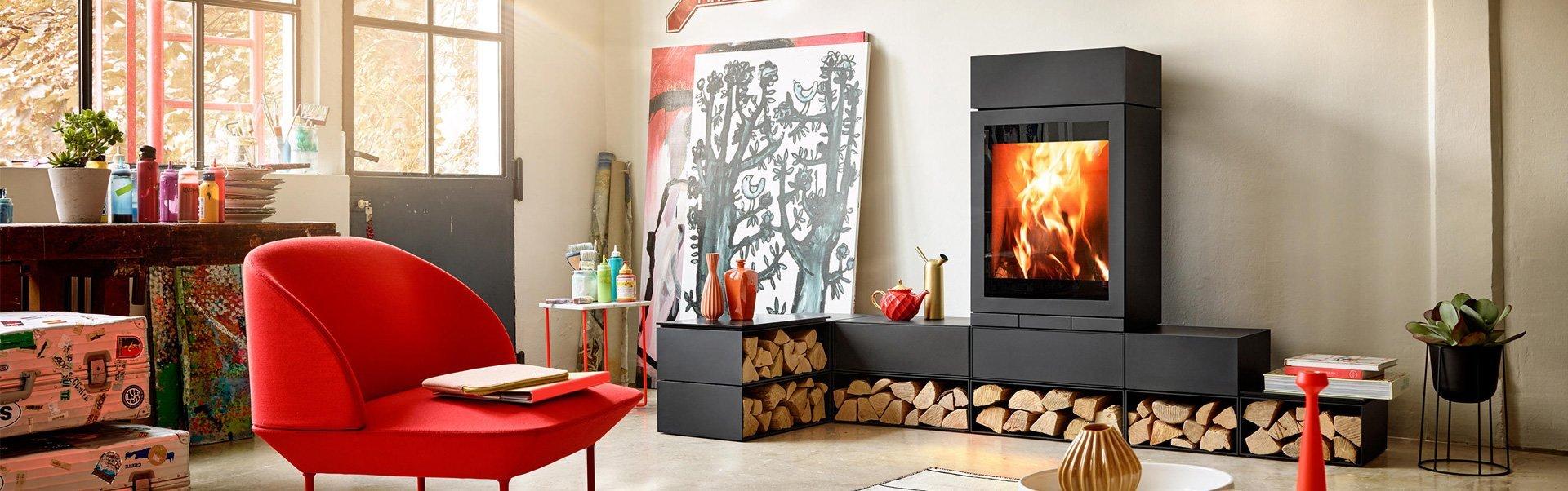 Modern Woodburners