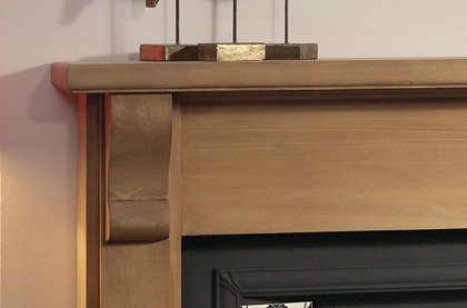 Wooden Fireplace Surrounds