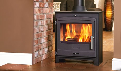 Double Sided Multi fuel Stoves