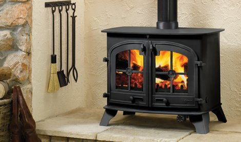 Multi fuel Stove with Back Boiler