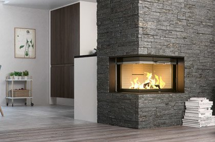 Built-In Wood Burners