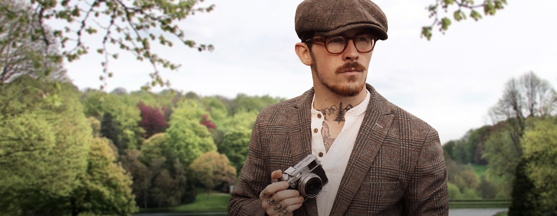 fathers day tweed outfit
