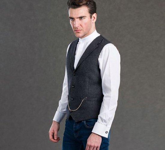 Mens Tweed Waistcoats