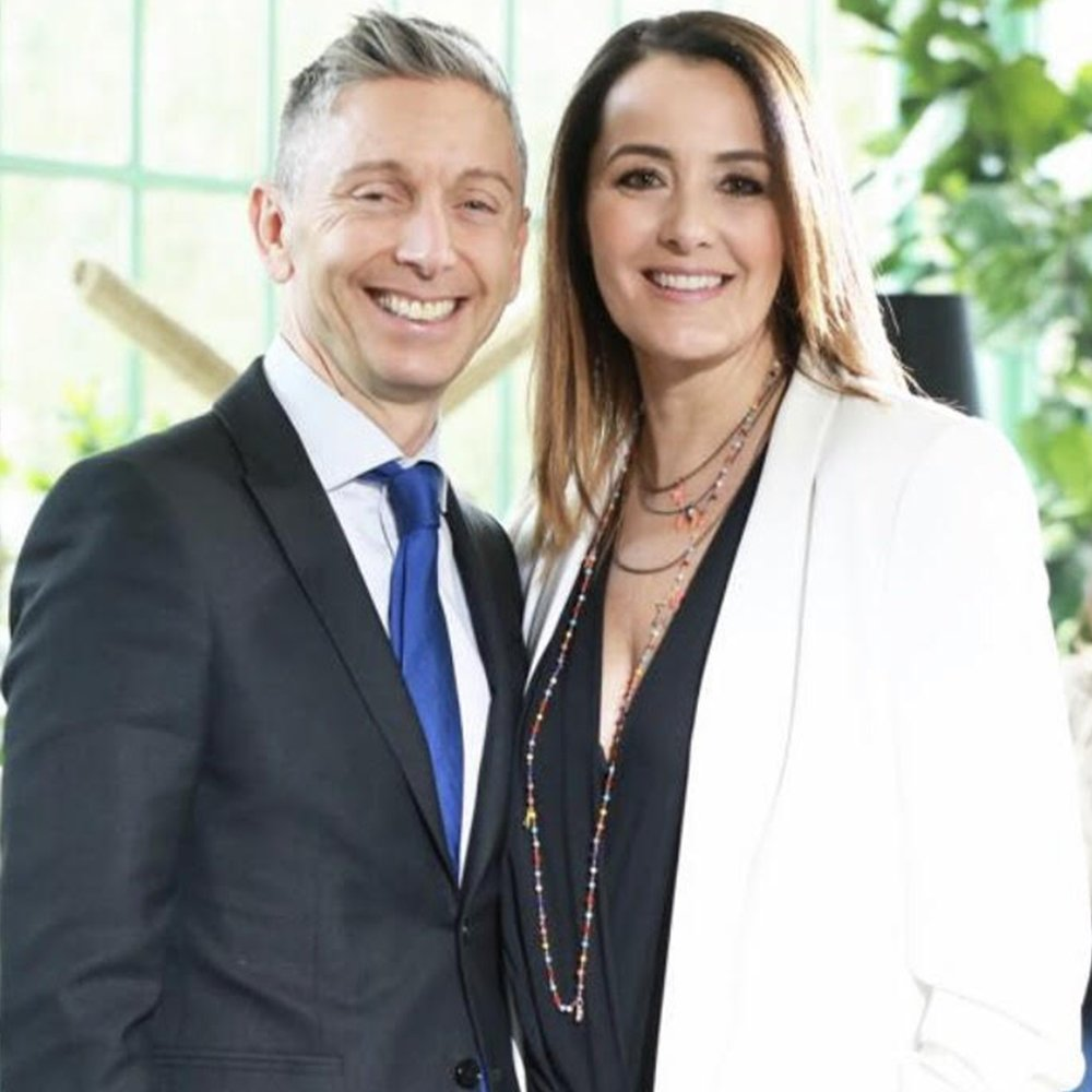 BELLI DENTRO, BELLI FUORI (BEAUTIFUL INSIDE, BEAUTIFUL OUTSIDE), AN ITALIAN TV SHOW ABOUT HEALTHY COOKING WITH GIANLUCA MECH AND ROBERTA CAPUA AS PRESENTERS.
