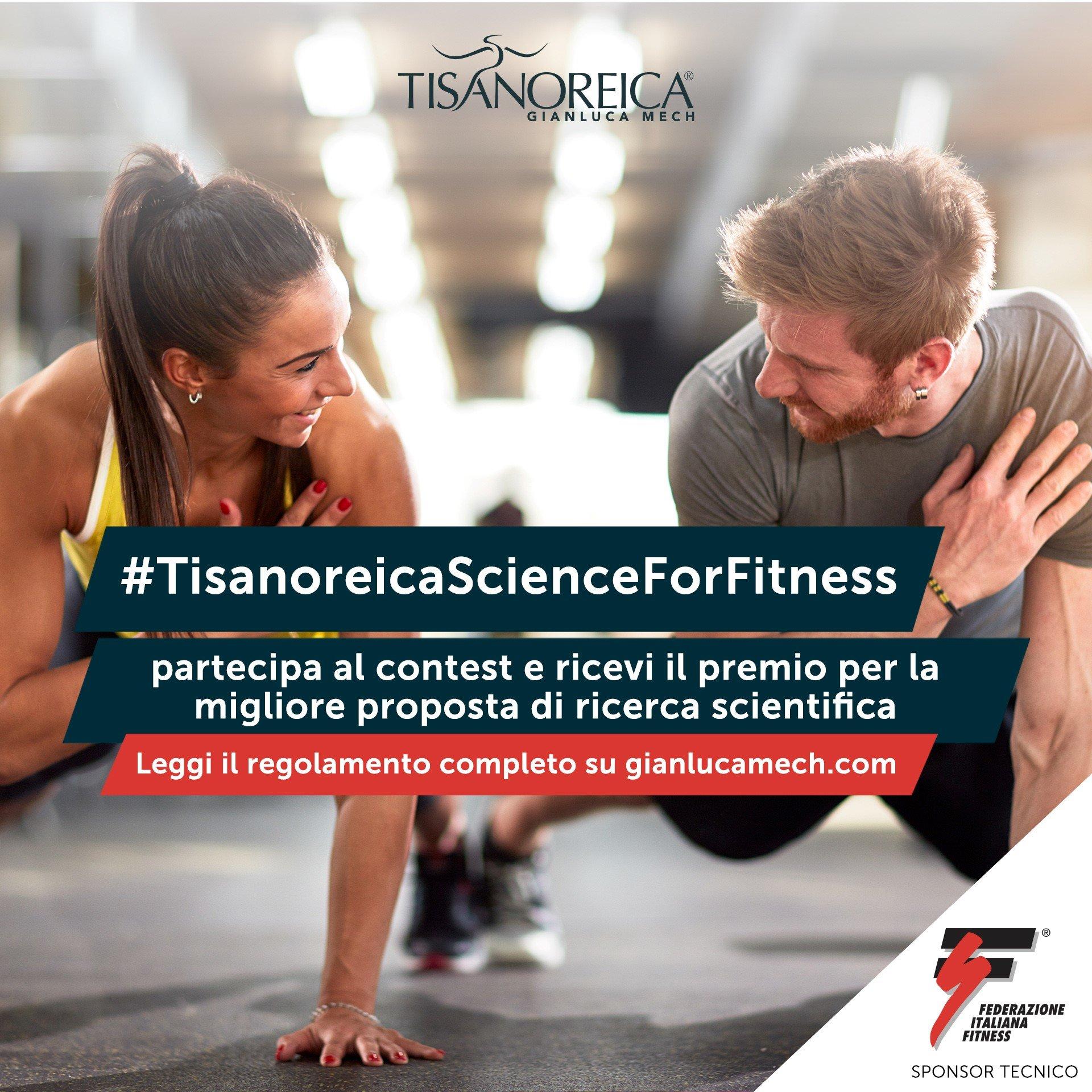 MAGGIO 2021, CONTEST #TisanoreicaScienceForFitness