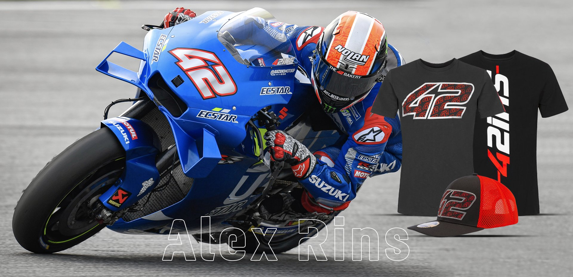 Alex Rins' first victory in 2020