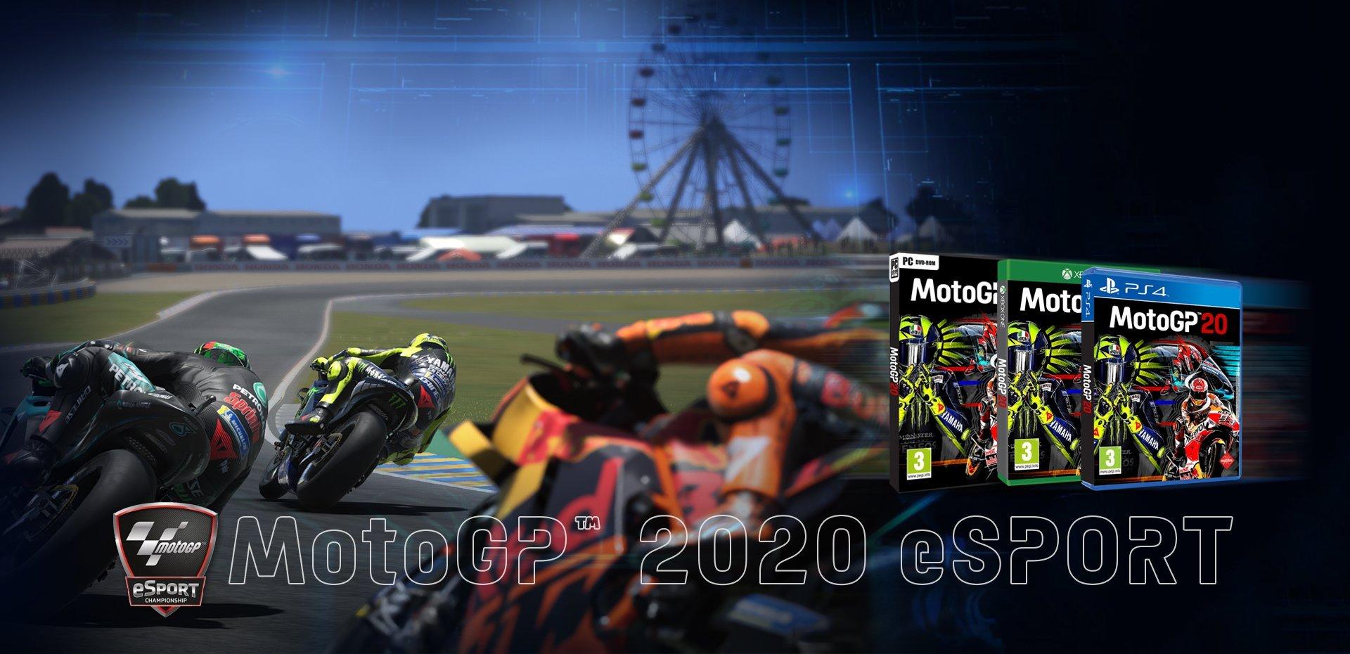 New MotoGP™ 2020 videogames