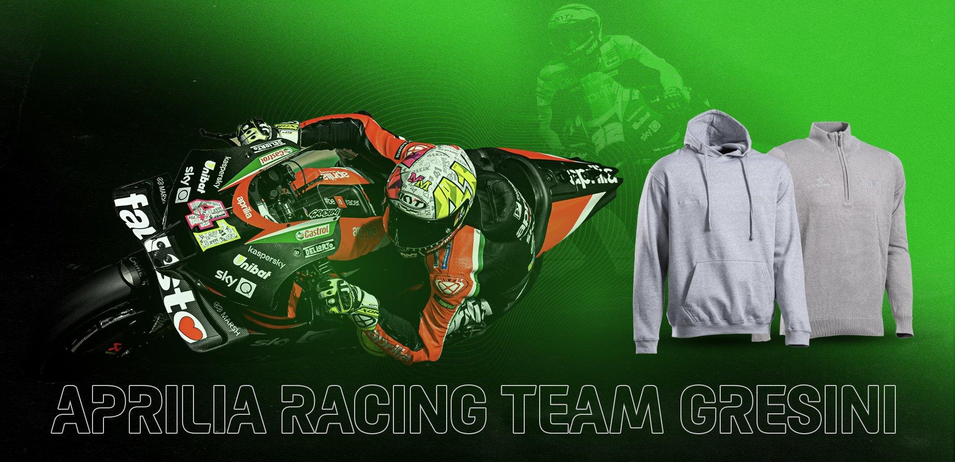 Nouvelle collection Aprilia Racing Team Gresini