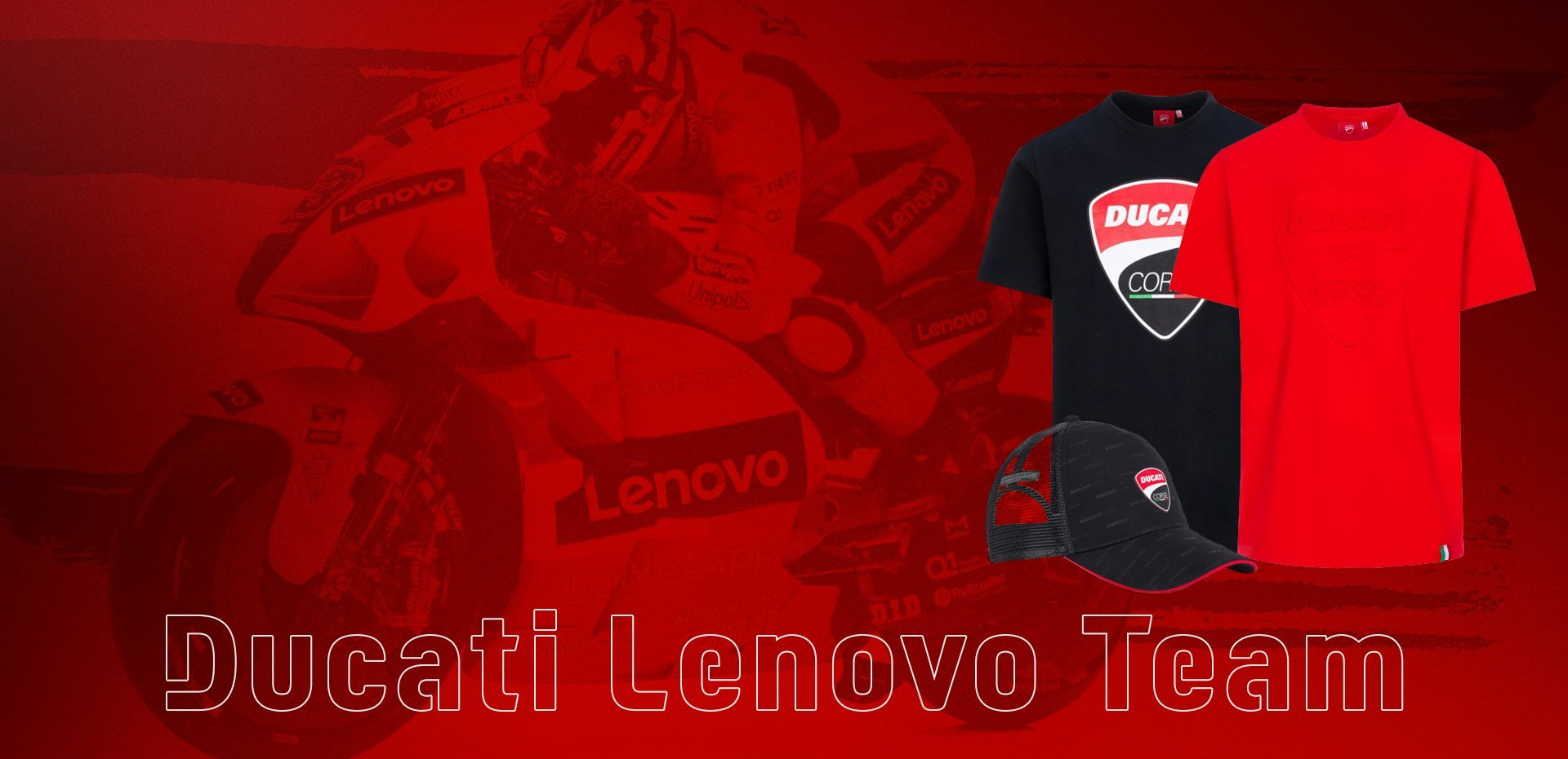New Ducati Lenovo Team