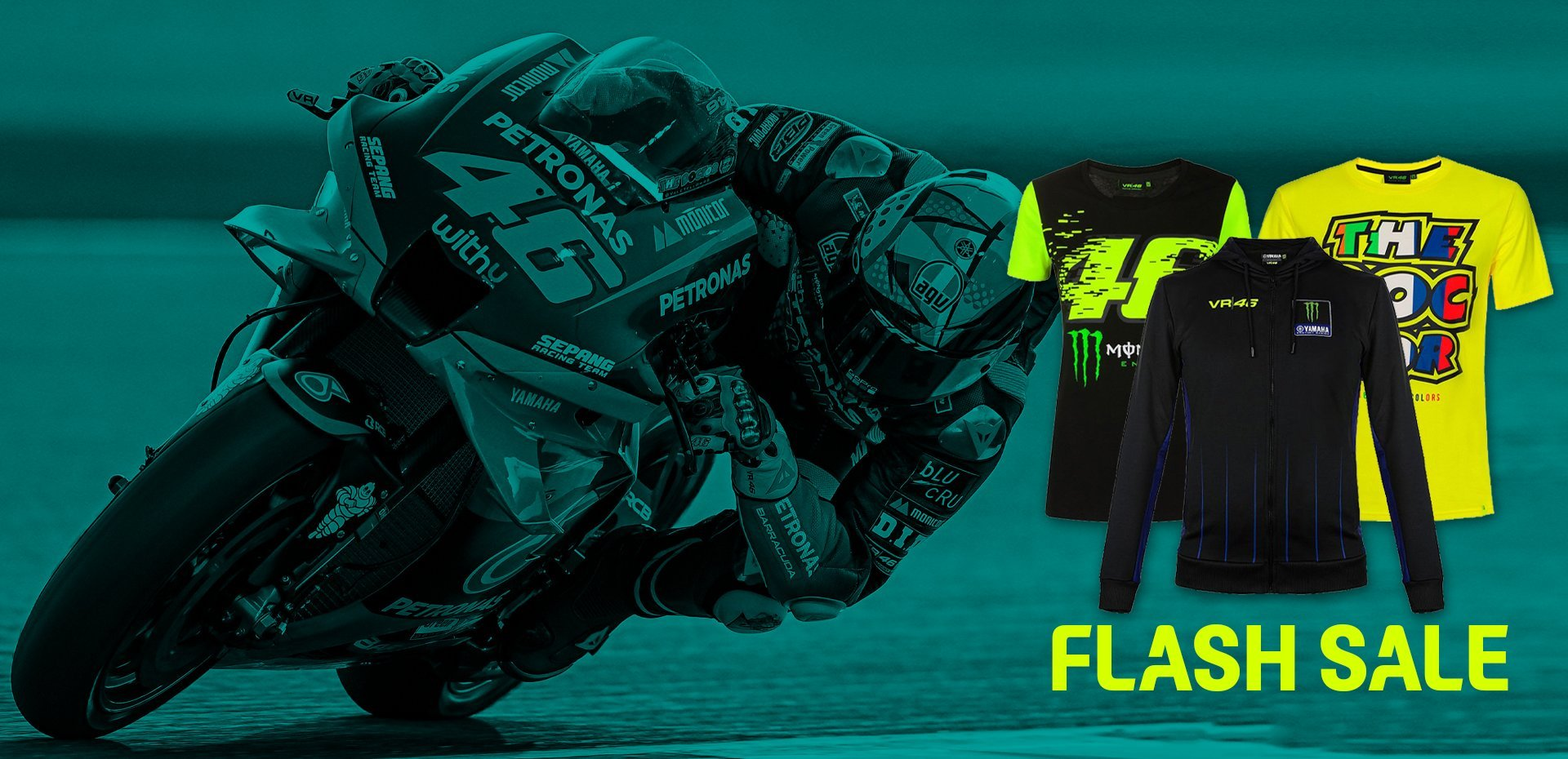 Up to 50% OFF on VR46's collection