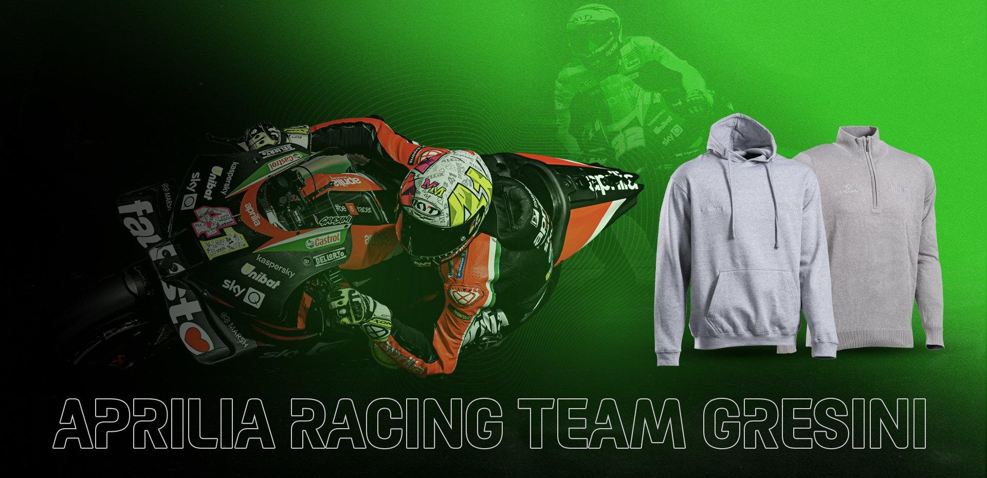 New Aprilia Racing Team Gresini's collection
