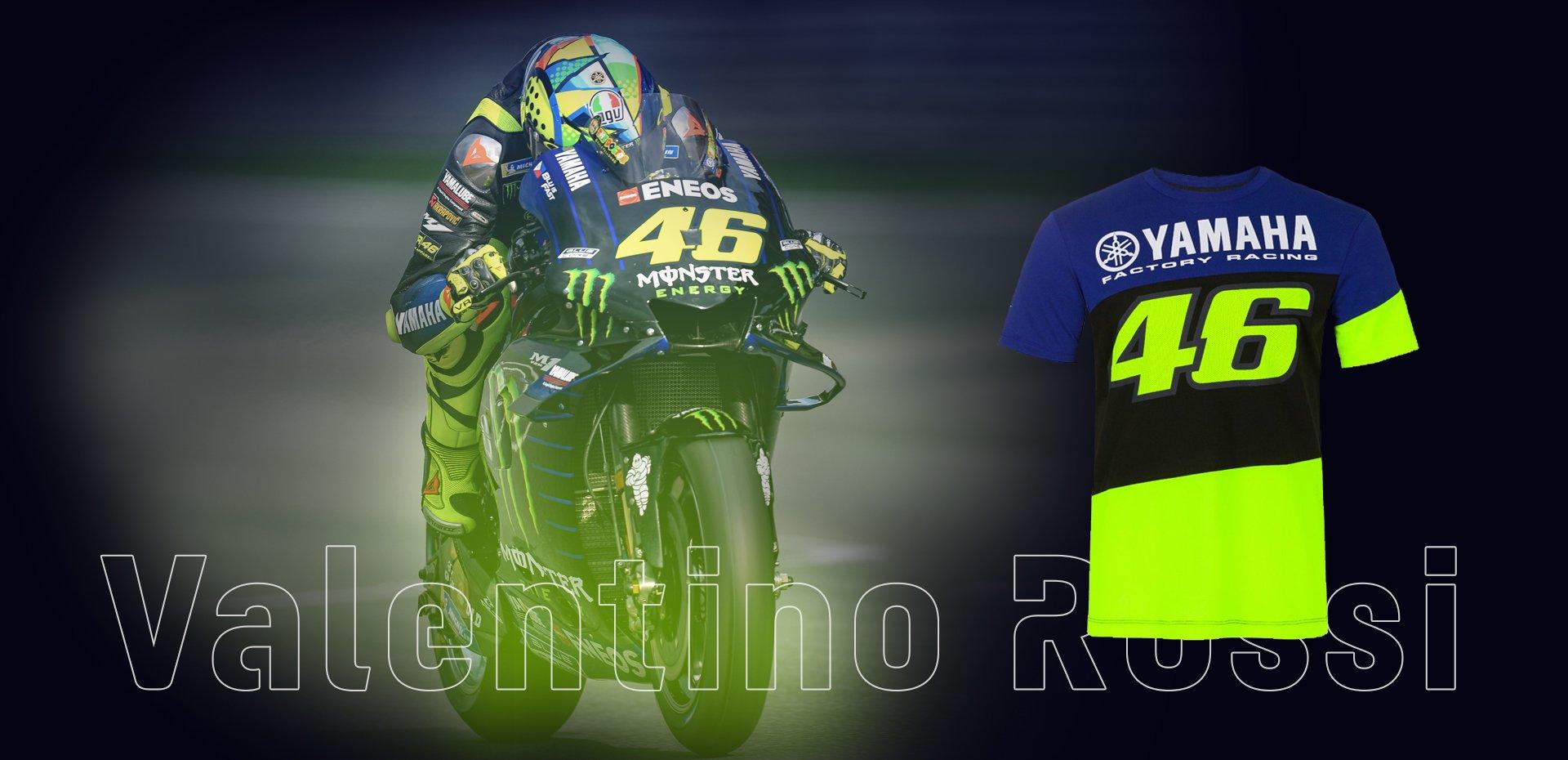 Nuovo merchandising<br />Valentino Rossi VR46