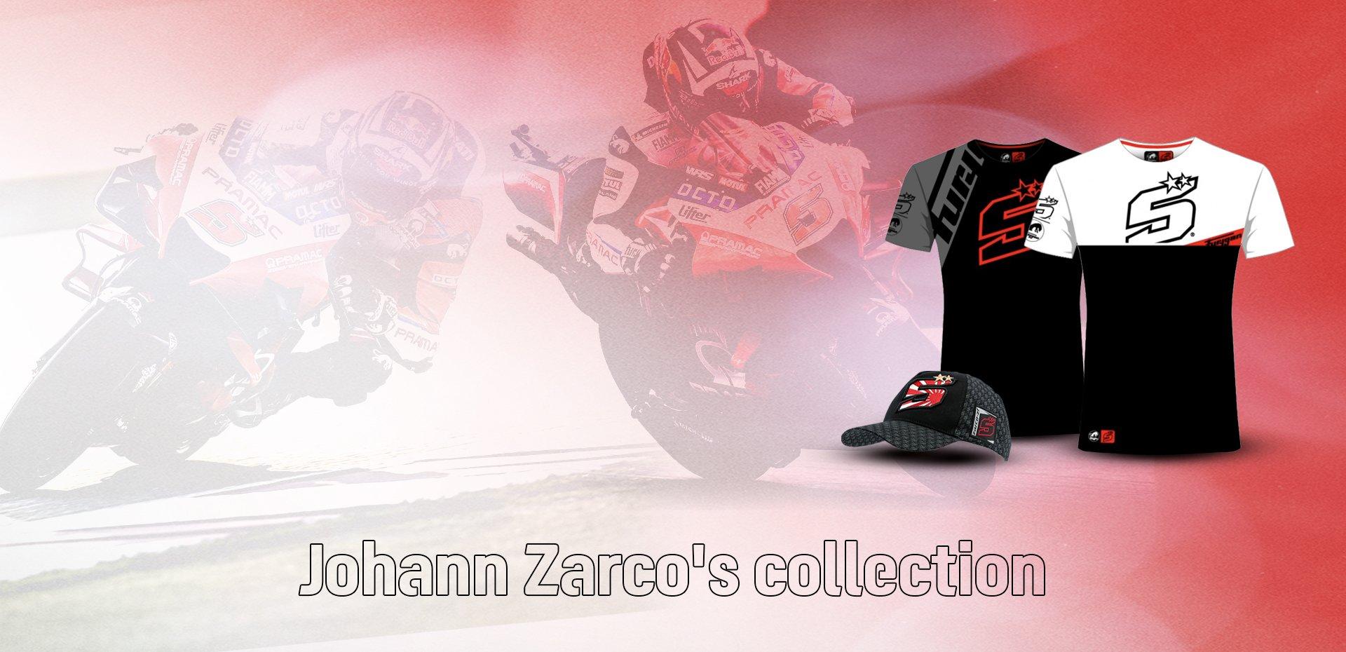Johann Zarco's collection
