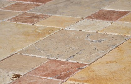 Natural Travertine Paving
