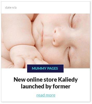 New online store Kaliedy