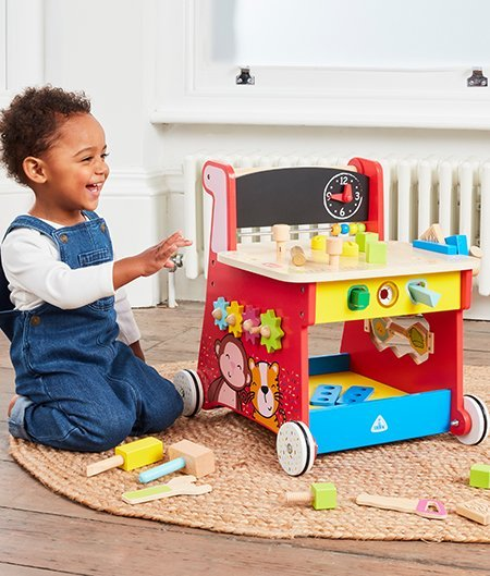 Early Learning Centre Wooden Activity Bench