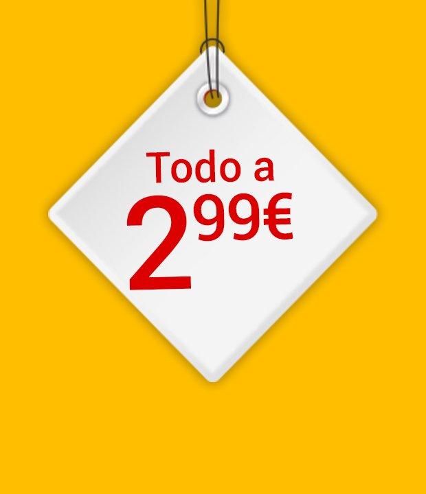 Todo a 2,99€