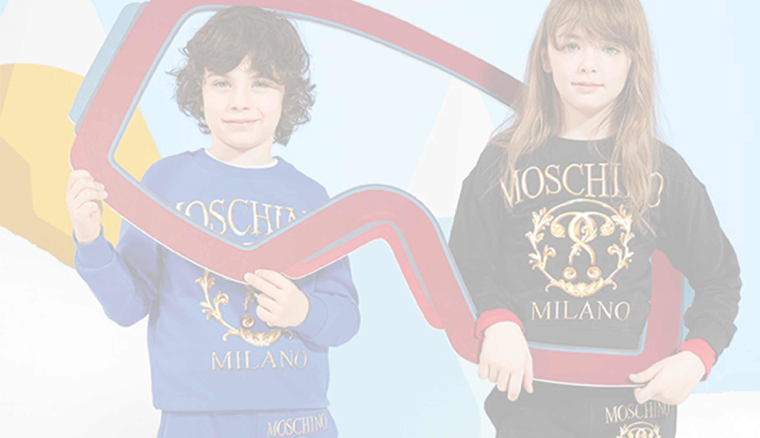 Moschino Children's Clothing, Accessories and Shoes