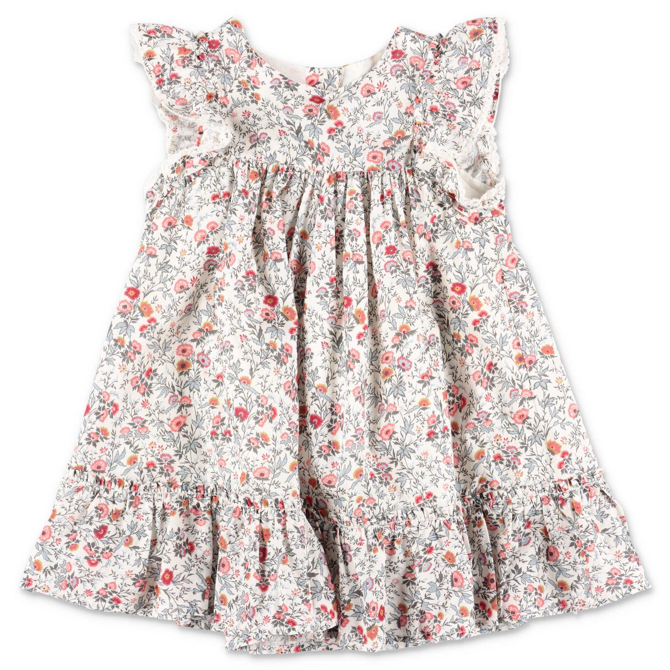 Tartine et Chocolat dress liberty print cotton muslin baby girl