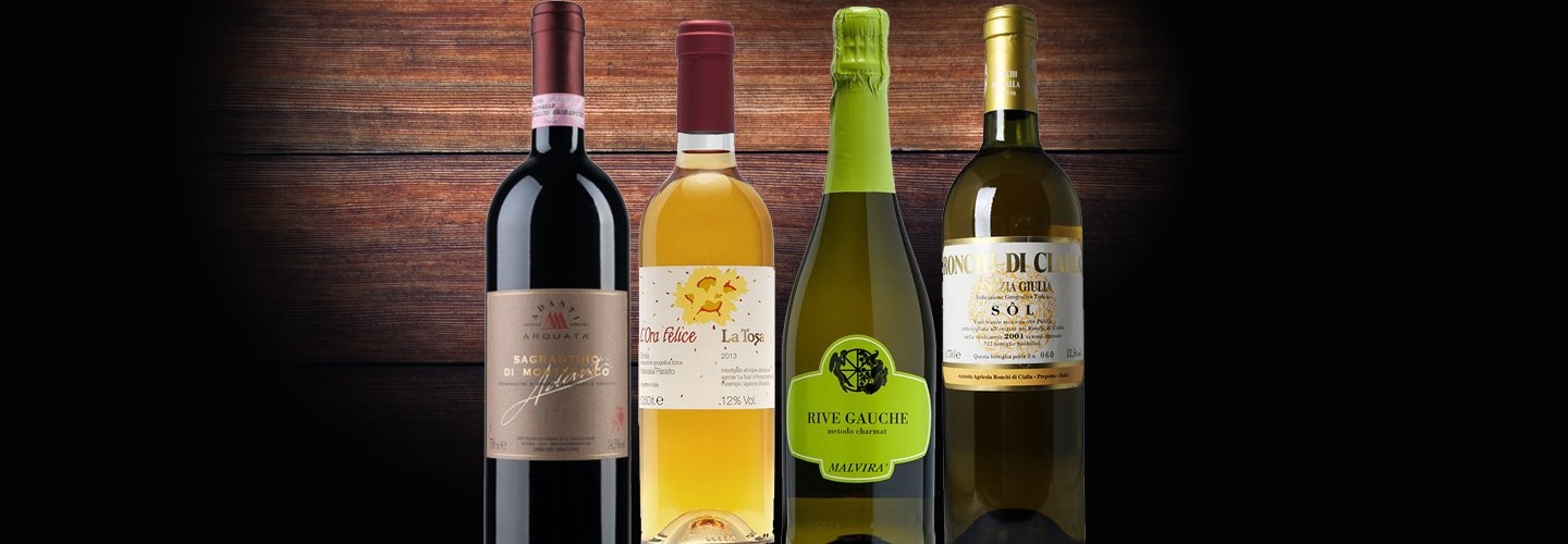 Summer sales on wine selection