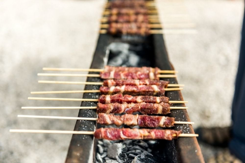 The Simple and Sublime Tastes of Arrosticini