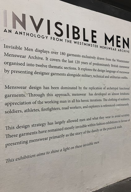 An anthology from the Westminster men's archive