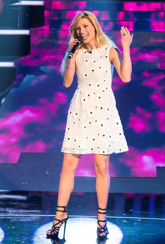 Michelle Hunziker in BLUGIRL
