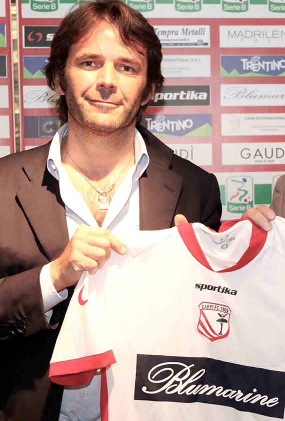 PRESENTATION OF THE NEW CARPI FC T-SHIRT
