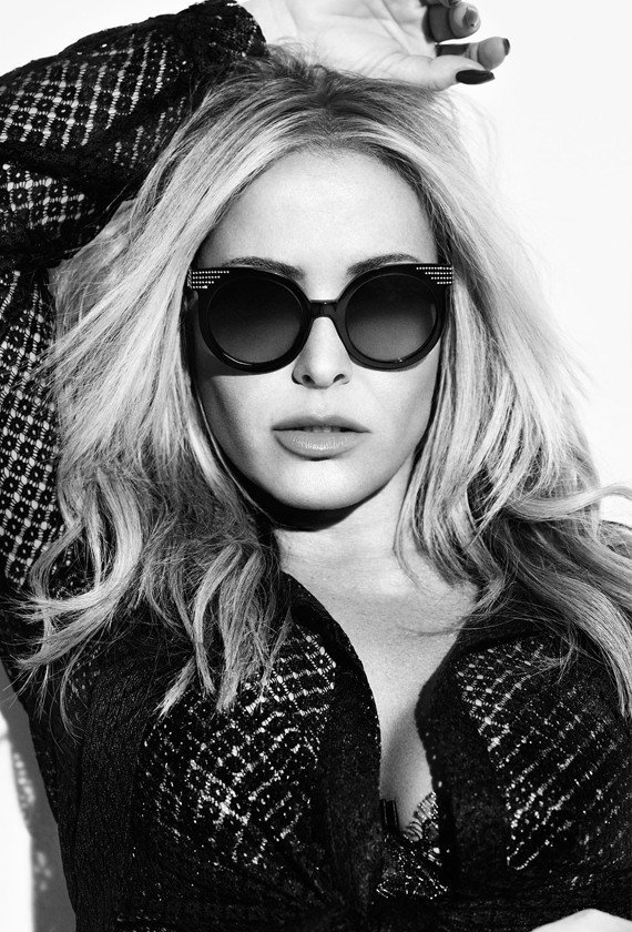 ANASTACIA CREATES A CAPSULE COLLECTION FOR BLUMARINE EYEWEAR