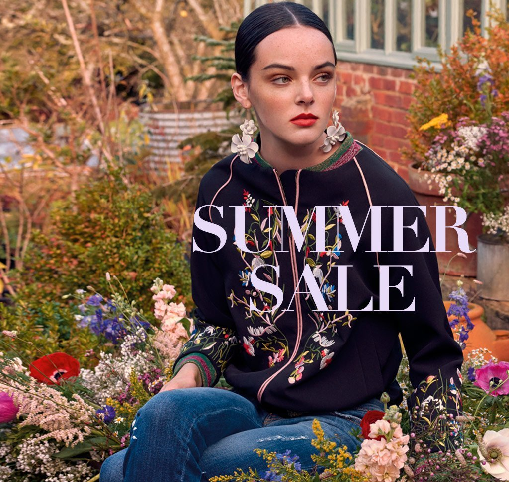 "<em><strong>SUMMER SALE IS HERE!</strong></em><br /><em>Dive into sale and enjoy exclusive reductions on your favourite Blugirl Spring Summer 2018 looks.</em><br /><br /><a href=""https://www.blumarine.com/en/blugirl/looks"">SHOP NOW</a>"