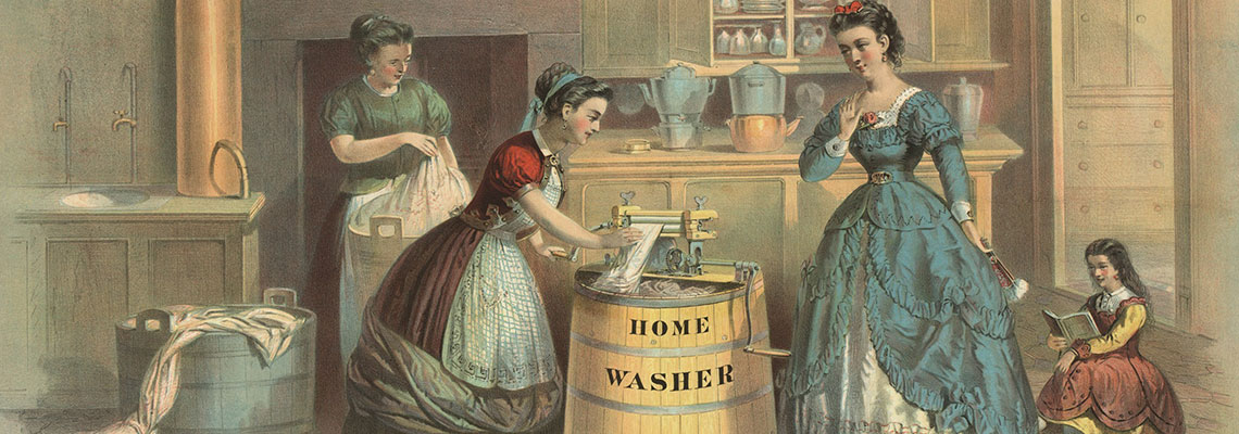 A short history of the washing machine
