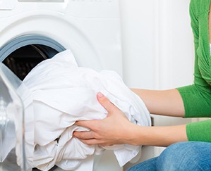 The laundry smells mouldy: what to do?