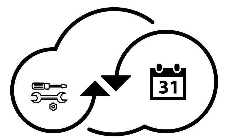 Stay updated in the cloud