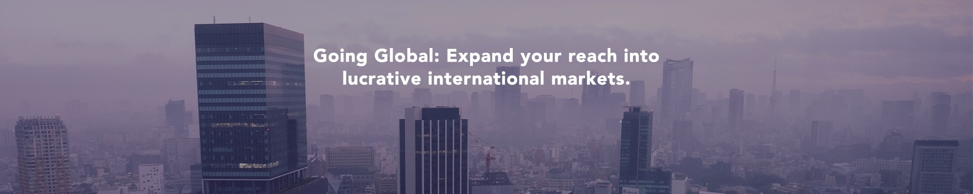 Kooomo Webinar Series: eCommerce Accelerated<br><br><br>Going Global: Expand your reach into lucrative international markets.