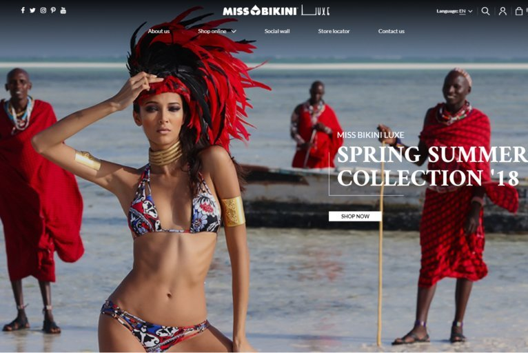 Miss Bikini launches new online store with Kooomo (just in time for swimsuit season!)