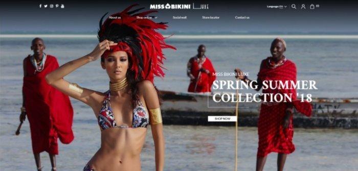 Miss Bikini lancia un nuovo negozio online tramite la piattaforma Kooomo