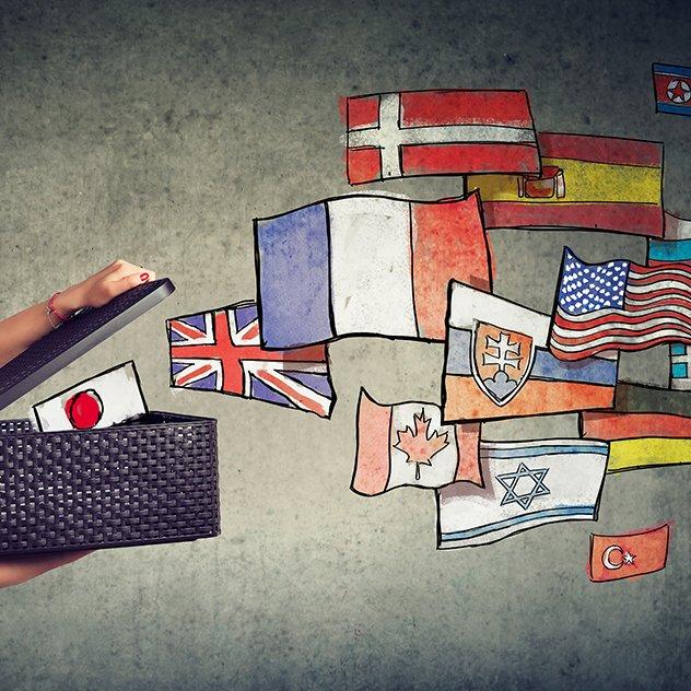 Gestisce diverse lingue