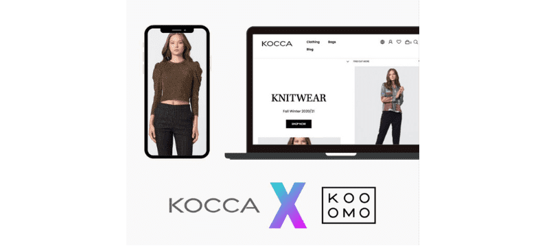 Kooomo launches Kocca's new eCommerce site to meet increased online demand for Italian fashion
