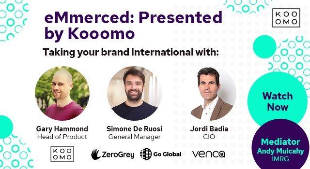 eMmerced: Presented by Kooomo - featuring Kooomo, Go Global & Venca