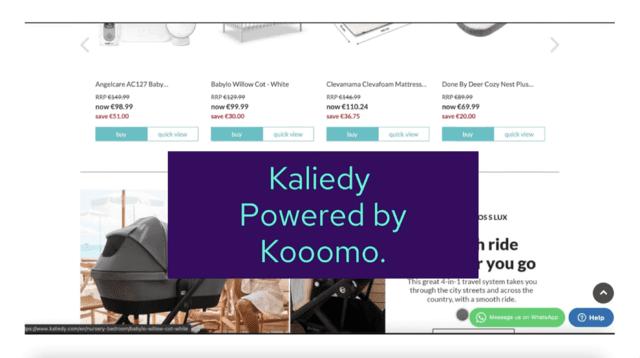 Kaliedy: Powered by Kooomo