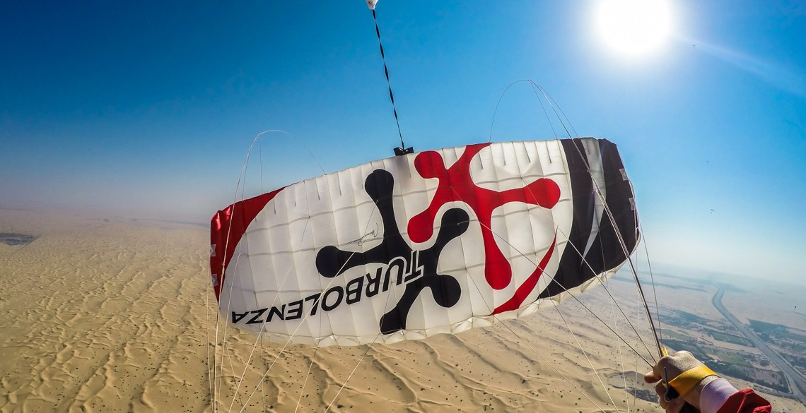 Will Penny surfing Dubai desert up in the Air