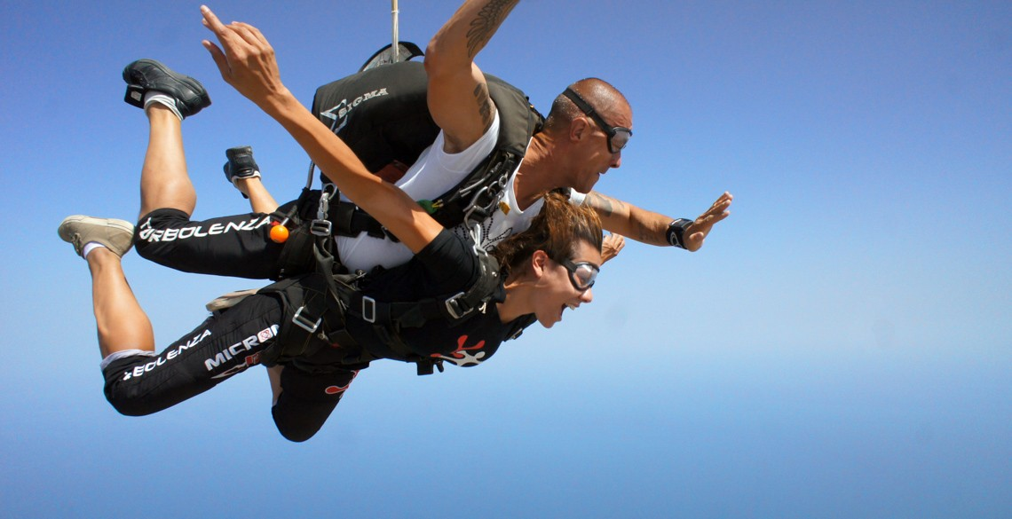 Tandem SkydiveFano