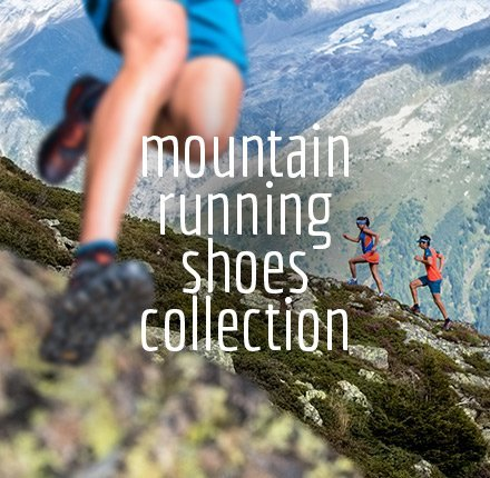 Mountain Running Shoes Collection