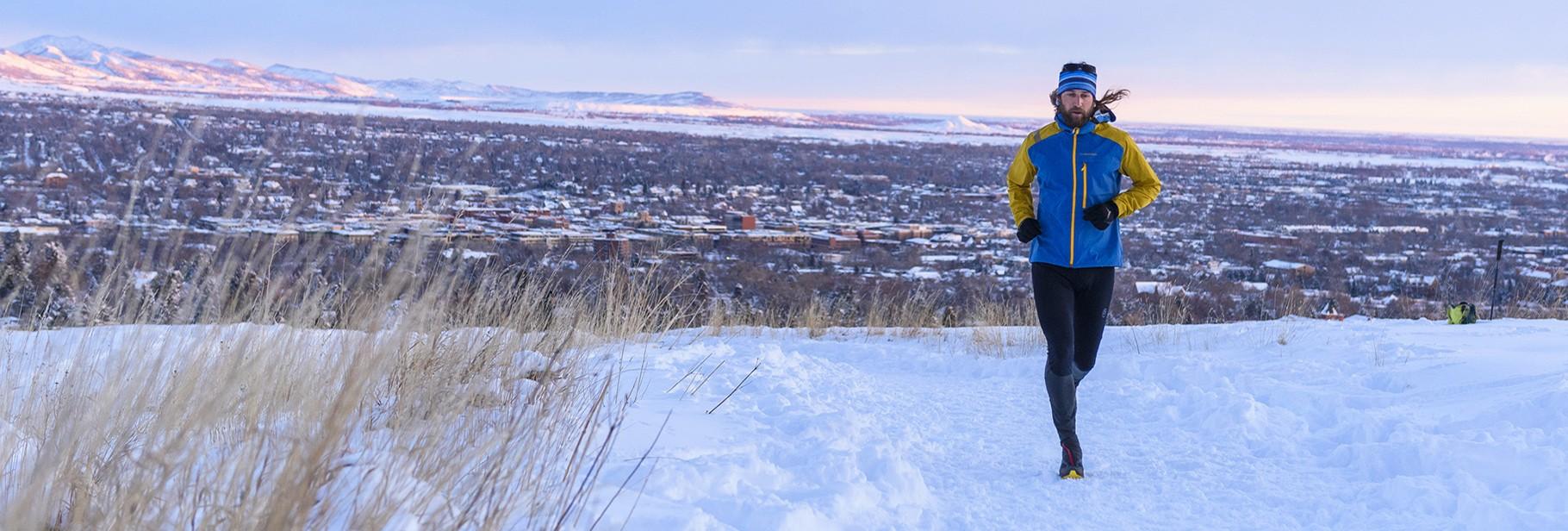 Winter Mountain Running