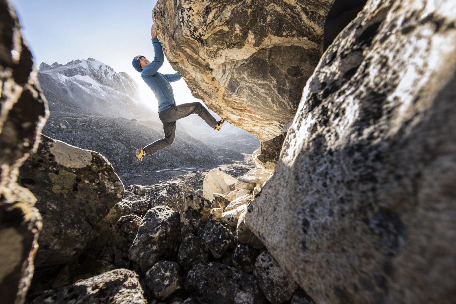 David Lama: First Ascent of Nepal's Lunag Ri – Solo | La Sportiva®